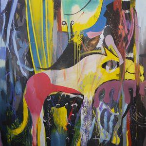 My Unfair Lady by David Lehmann contemporary artwork painting