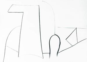White Still Life 1 by Aurélie Gravas contemporary artwork