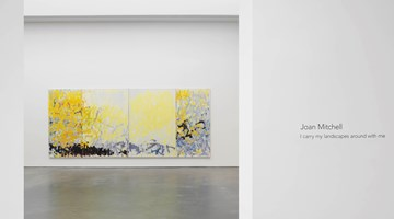 Contemporary art exhibition, Joan Mitchell, I carry my landscapes around with me at David Zwirner, New York