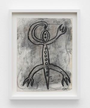 Flute Lizard by Chris Martin contemporary artwork