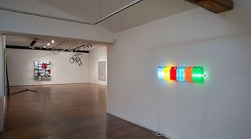 Contemporary art exhibition, Bill Culbert, Dale Frank, Jim Lambie, TV Moore, Callum Morton, Michael Parekowhai, Gareth Sansom, Group Show at Roslyn Oxley9 Gallery, Sydney