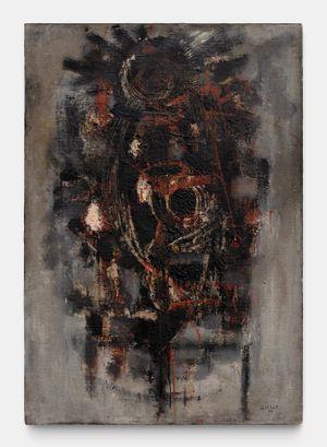 le sacrificateur by Roger-Edgar Gillet contemporary artwork