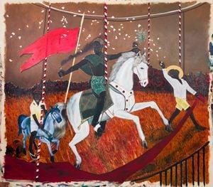 Carrossel by Antonio Obá contemporary artwork
