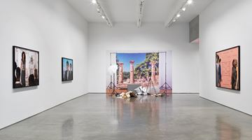 Contemporary art exhibition, John Miller, The Collapse of Neoliberalism at Metro Pictures, New York, USA
