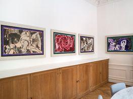 Group ExhibitionAlechinsky with Kolar and BalzacGalerie Lelong & Co. Paris