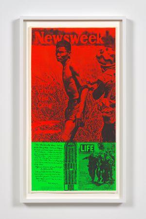 news of the week by Corita Kent contemporary artwork print