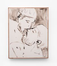 Kiss by Brett Charles Seiler contemporary artwork painting