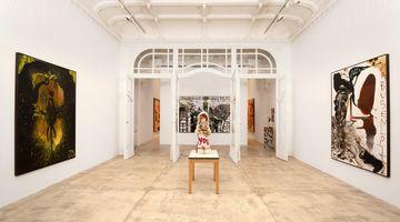 Contemporary art exhibition, Jonathan Meese, DIE DR. MABUSENLOLITA (ZWISCHEN ABSTRAKTION UND WAHN) at Galerie Krinzinger, Vienna