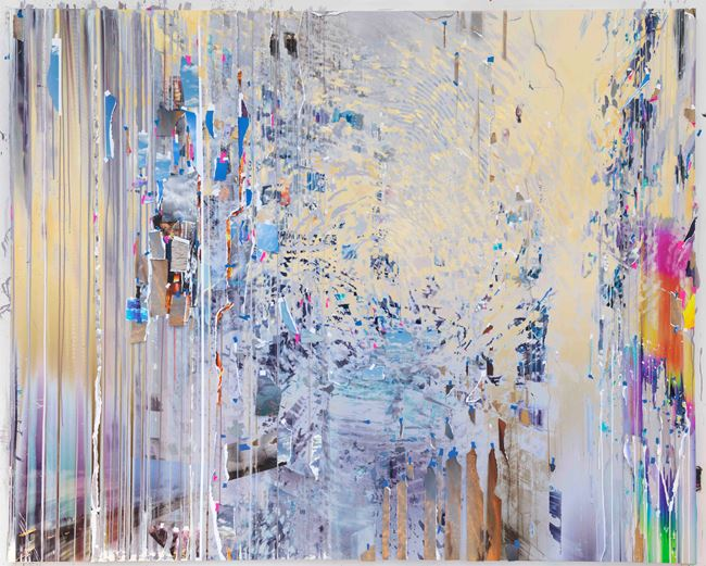 Ghost Print (Half-life) by Sarah Sze contemporary artwork