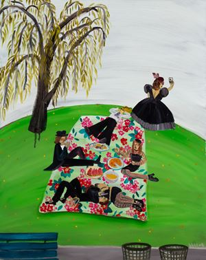 Gothic Picnic by Huang Hai-Hsin contemporary artwork