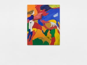WHiTE GODDESS etc. by Robert Colescott contemporary artwork