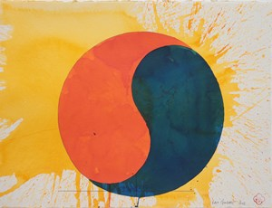 Saturn by Max Gimblett contemporary artwork