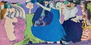 白鴿的傳奇 The Story of Pigeon by Luis Chan contemporary artwork