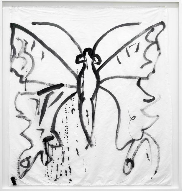 Como Butterfly II by Joan Jonas contemporary artwork