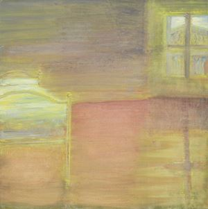 Room, Great Russell Street, Morning by Celia Paul contemporary artwork