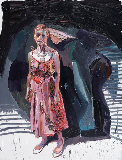 The Pink Dress by Ben Quilty contemporary artwork