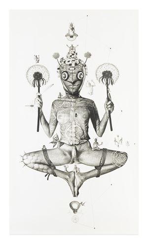 Naked Sage: Dandelion Holder by GAVIN WILSON contemporary artwork
