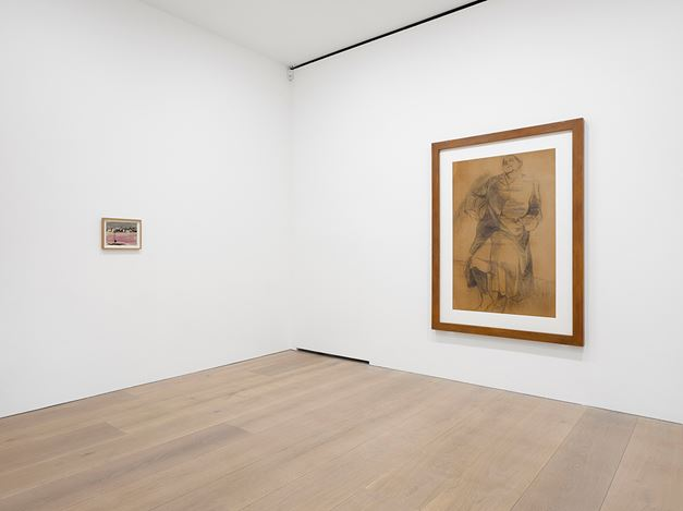 Exhibition view: Andrzej Wróblewski, David Zwirner, London (16 March–14 April 2018). Courtesy David Zwirner.