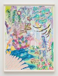 All things always seemed the same 2 by Sarah Ann Weber contemporary artwork works on paper, drawing