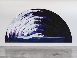 Wave (light breaks) by Gretchen Albrecht contemporary artwork