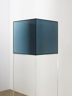 Cube #41 by Larry Bell contemporary artwork