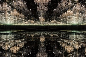 Chandelier of Grief by Yayoi Kusama contemporary artwork