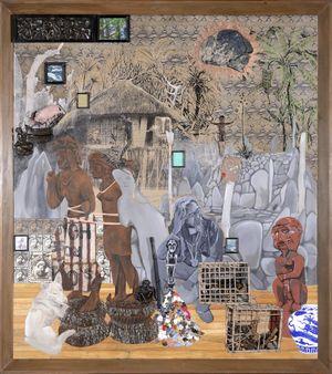 His Ancestral Frequency by Kawayan de Guia contemporary artwork