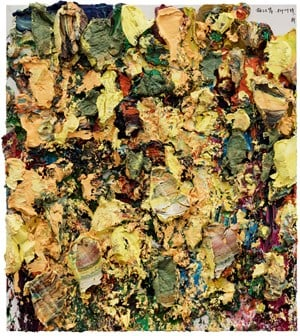 Beating the Riverbank, the leaves of the Willow break off by Zhu Jinshi contemporary artwork