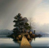 Bridge and Path by Alexander McKenzie contemporary artwork painting