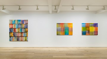 Contemporary art exhibition, Bernard Frize, Tongue and Groove at Perrotin, Seoul
