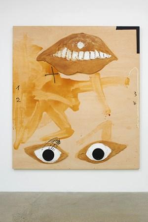 Capgirat by Antoni Tàpies contemporary artwork