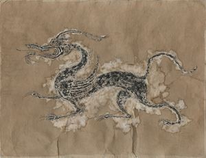Original Animation Drawings - Dragon by Sun Xun contemporary artwork