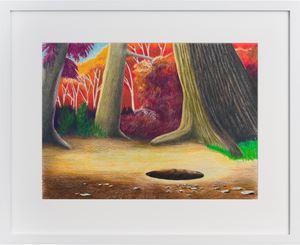 The Hole Story by Callum Morton contemporary artwork