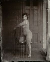 Untitled (Storyville Portrait) by E.J. Bellocq contemporary artwork photography