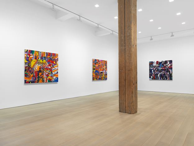 Exhibition view:Michael Reafsnyder, Miles McEnery Gallery, 525 West 22nd Street, New York (9 January–15 February 2020). Courtesy Miles McEnery Gallery.
