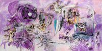 L'homme descend du signe by Roberto Matta contemporary artwork painting