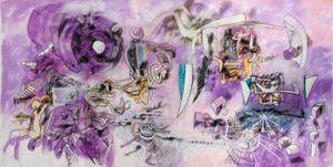 L'homme descend du signe by Roberto Matta contemporary artwork