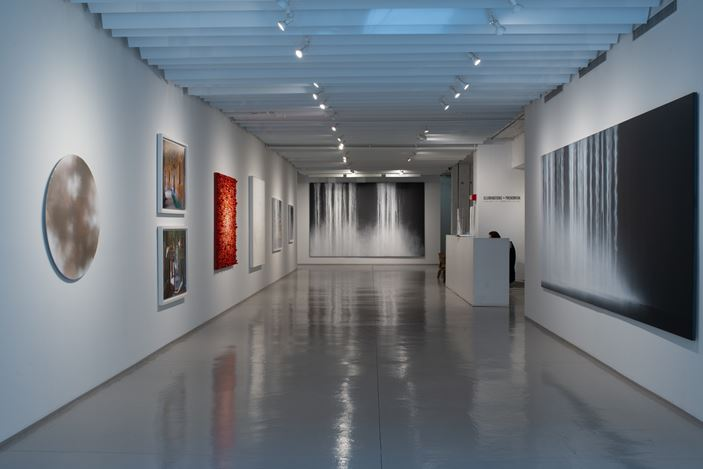 Exhibition view: Group Exhibition, Illuminations and Phenomena, Sundaram Tagore Gallery, Chelsea, New York (14 January–27 February 2021). Courtesy Sundaram Tagore Gallery.