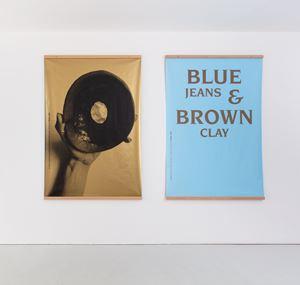 Blue Jeans & Brown Clay by Kajsa Ståhl contemporary artwork