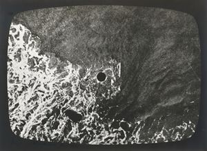 hole in the sea (triptych) by Barry Flanagan contemporary artwork