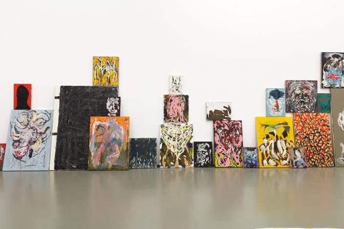 Exhibition view: Zander Blom, Garage-ism, Stevenson, Cape Town (10 December 2020–23 January 2021). Courtesy Stevenson.