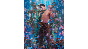 Contemporary art exhibition, Pierre et Gilles, Errances immobiles at Templon, Paris