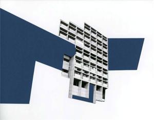 Capitol Complex – Blue Façade by Seher Shah contemporary artwork