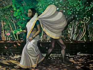 Smell of Pepper and Jasmine by Ratheesh T. contemporary artwork