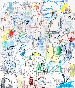 Alles unter Kontrolle by Jan Voss contemporary artwork