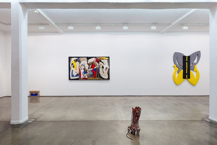 Exhibition view: Chelsea Culprit, Fear of Seduction, Maureen Paley, London (12 January–24 February 2019).© Chelsea Culprit. Courtesy Queer Thoughts, New York and Maureen Paley, London.