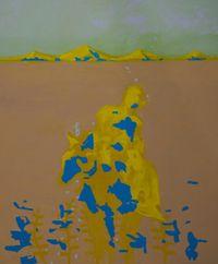 des chromosomes dans l'atmosphère by Rebekka Steiger contemporary artwork painting