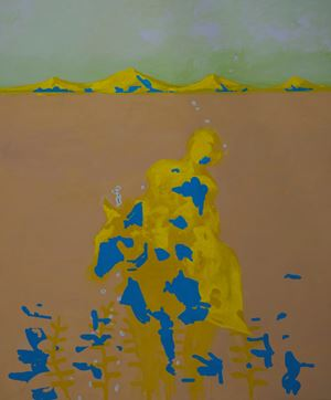 des chromosomes dans l'atmosphère by Rebekka Steiger contemporary artwork