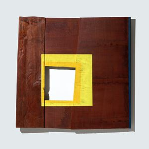 Yellow Square by Young-Rim Lee contemporary artwork