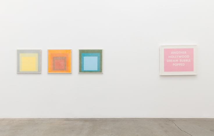 Exhibition view: Tammi Campbell, Boring Art, Anat Ebgi, Los Angeles (7 September–26 October 2019). Courtesy Anat Ebgi.